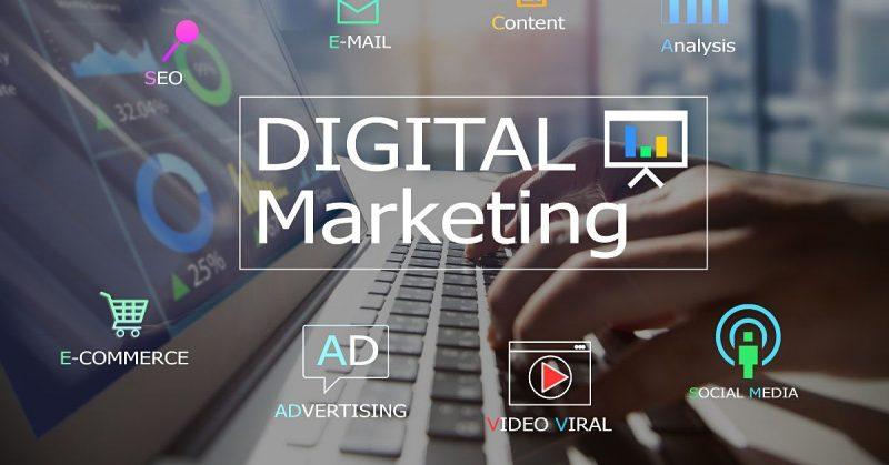 数字营销, 数字营销组成部分